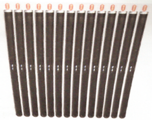 EVT with heat pipes