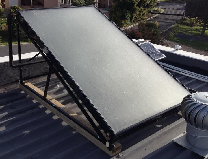 2.4m Solar Panel Pump System