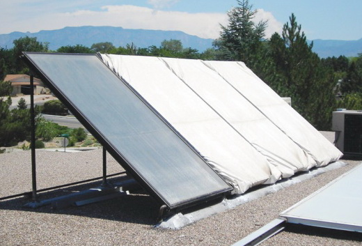 Flat Plate Solar Collector Partial Shading