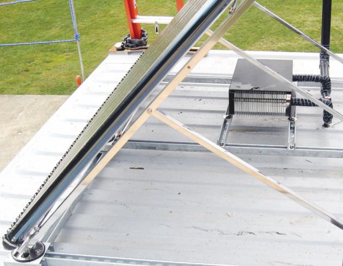 Solar Collector Apricus Heat Dissipator